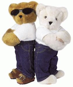 "15"" Basics Bear with Jeans"