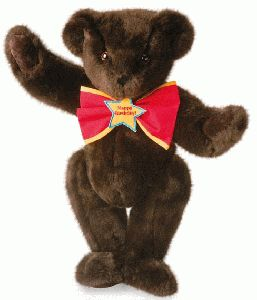 "15"" ""Happy Birthday"" Bowtie Bear"