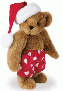 "15"" Holiday Heart Throb Bear"