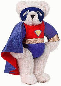 "15"" Super Hero Bear"